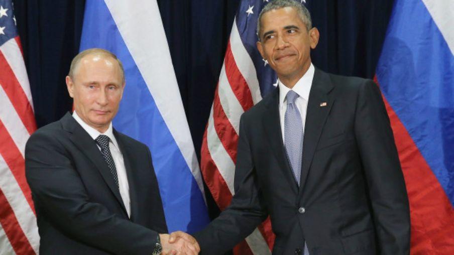 Путін та Обама