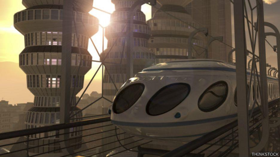 La fricción es el enemigo de la  velocidad, y por eso los científicos prueban trenes que no toquen el suelo.