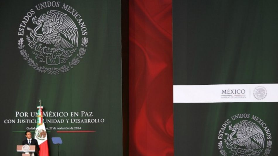 Presidente de México Enrique Peña Nieto. Foto: AFP/Getty
