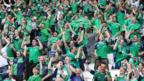 Northern Ireland supporters in Paris