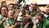 Connacht won the Pro12 for the first time in their history in 2015-16
