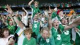 Republic of Ireland fans