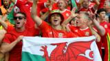 Wales supporters