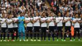Spurs player pay tribute