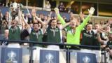 Hibernian lift the Scottish Cup