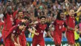 Portugal celebrate victory