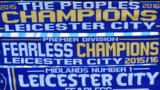 Leicester 'champions' scarves