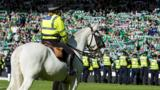 Police at the cup final