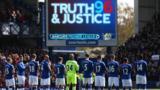 Goodison's emotional Hillsborough tribute