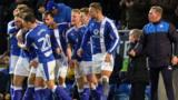 Chesterfield caretaker boss Ritchie Humphreys was in charge for the first time following the midweek sacking of Danny Wilson