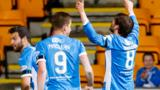 Murray Davidson celebrates making it 2-0 to St Johnstone