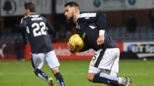 Dundee striker Kane Hemmings