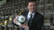 Derek Adams, new Plymouth Argyle manager