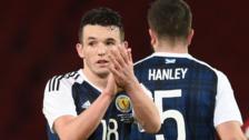 John McGinn was Scotland's man of the match