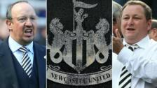 Rafael Benitez, Newcastle badge, Mike Ashley