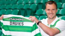 Celtic assistant manager Chris Davies