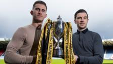 Rangers' Dominic Ball and Peterhead's Steven Noble