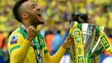 Norwich winger Nathan Redmond