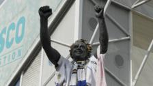 Billy Bremner statue at Elland Road