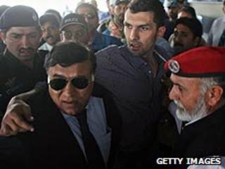 Zulqarnain Haider returns home