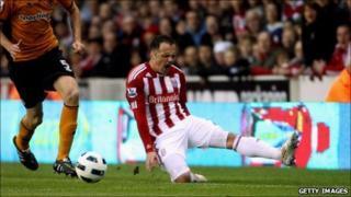 Stoke's Matthew Etherington