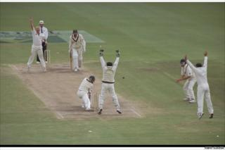 Shane Warne's 300th Test wicket