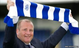 New Queen of the South manager Gus MacPherson