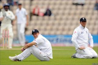 Andrew Strauss and Graeme Swann rue a missed opportunity