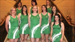 The Northern Ireland netball team