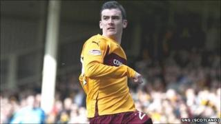 Gavin Gunning was on loan at Motherwell in the second half of last season