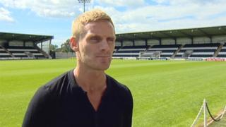 New St Mirren Gary Teale