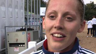 British pentathlete Mhairi Spence