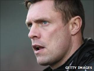 Port Vale first-team coach Geoff Horsfield