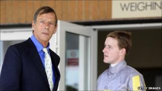 Sir Henry Cecil and Tom Queally