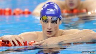 Scottish swimmer Michael Jamieson