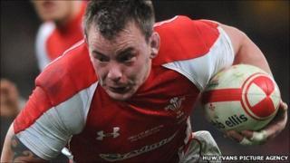 Wales captain Matthew Rees