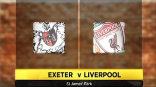 Exeter 1-3 Liverpool