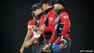England dejected at World Cup