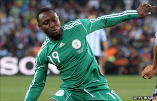 Nigeria striker Chinedu Ogbuke Obasi