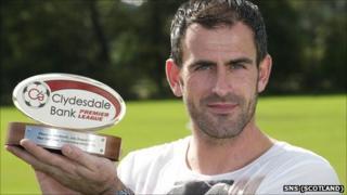Dunfermline goalkeeper Paul Gallacher