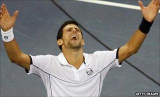 Serbian Novak Djokovic