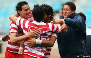 Club Africain players