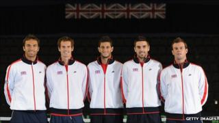 Great Britain Davis Cup team