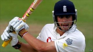 Alastair Cook is named England's most valuable player