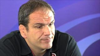 England head coach Martin Johnson