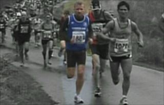 Rob Sloan (in the blue vest)