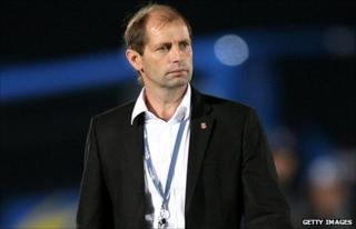German coach Gert Engels