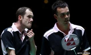 Chris Adcock and Andrew Ellis