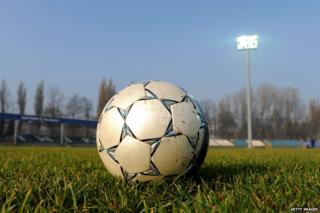 Hutnik Municipality Stadium in Krakow, Poland