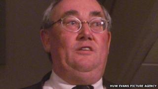 Former FAW general secretary Alun Evans